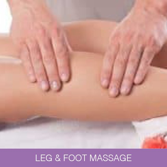 Leg & Foot Massage  in Newcastle at Naturally Heaven Therapy