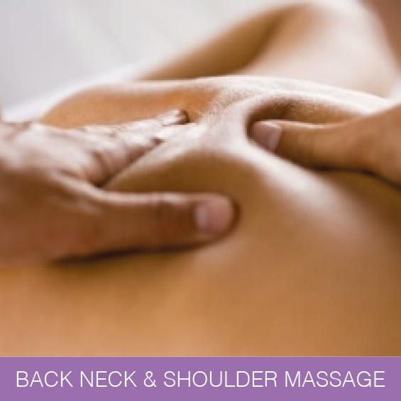 Neck & Shoulder Massage Newcastle