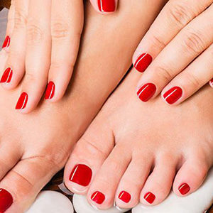 Gel Manicure & Pedicure