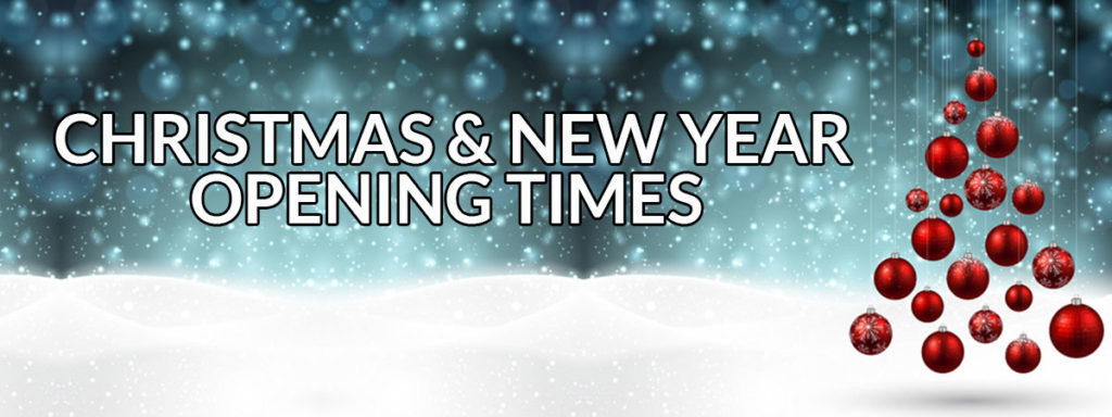 Christmas New Year Opening Hours at naturally heaven therapy beauty salon in Newcastle upon tyne
