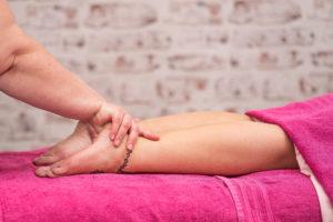 leg and foot massage