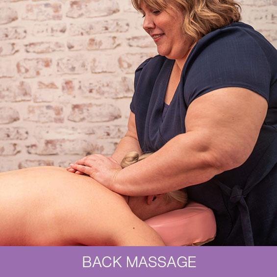 Back Massage at Naturally Heaven Therapy Holistic Beauty Salon, Gosforth & Killingworth
