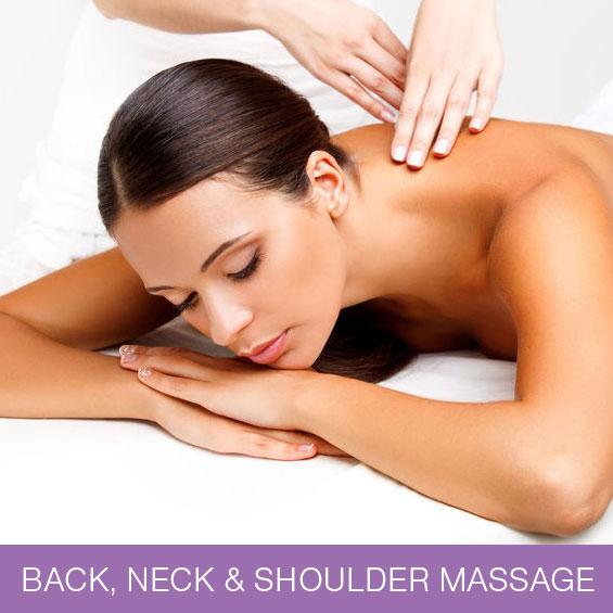 Back, Neck & Shoulder Massage at Naturally Heaven Therapy Holistic Beauty Salon, Gosforth & Killingworth