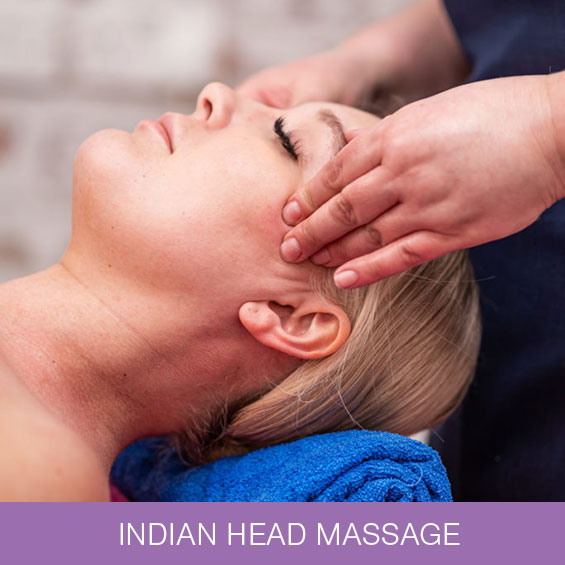 Indian Head Massage at Naturally Heaven Therapy, Beauty Salon in Four Lane Ends