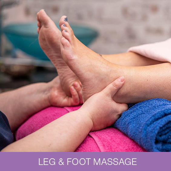 Leg & Foot Massage  in Newcastle at Naturally Heaven Therapy Wellness Rooms